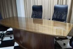 Vidrios para escritorios.